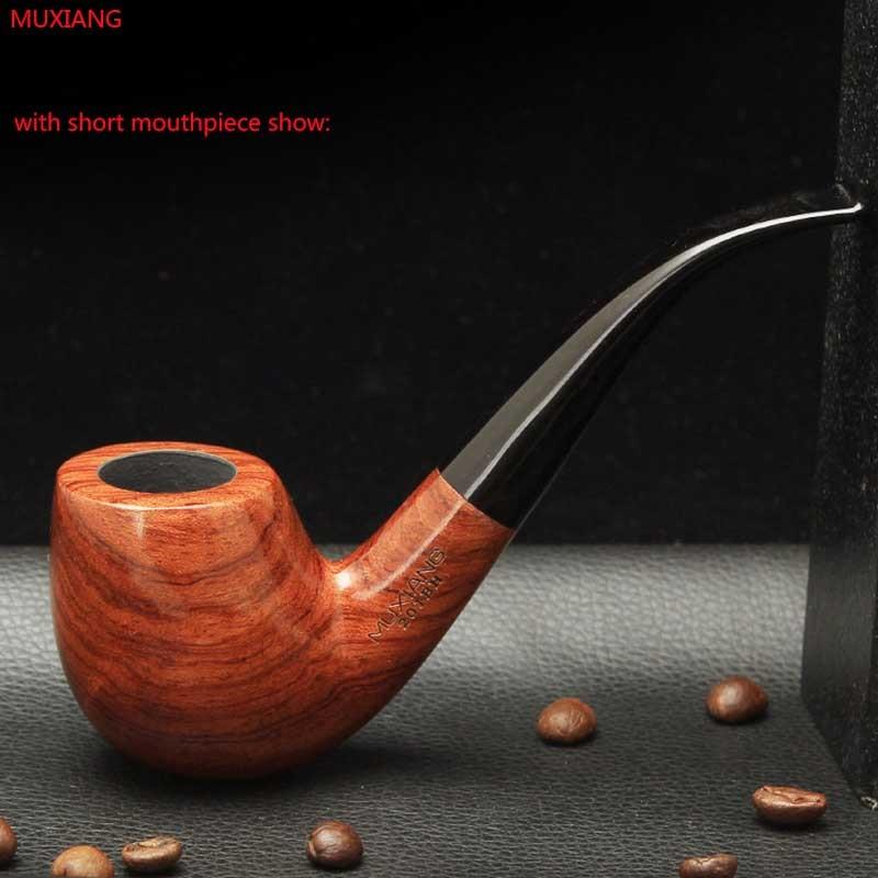 Rosewood Smoking Pipe with 9mm filter 10 smoking Tools Pipe Set 1