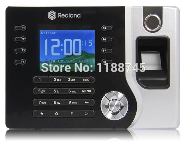 Realand A-C071 USB 200 MHz employé paie empreinte digitale horloge de présence RFID lecteur de carte
