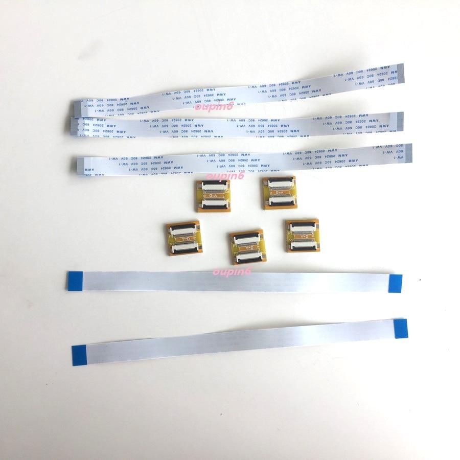 60 Pins 8/'/' 20cm AWM 20624 80C 60V VW-1 FPC FFC Flat Zip Ribbon Cable Panel Flex