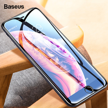 Baseus For iPhone X 8 7 Screen Protector All-Screen 0.3MM Tempered Glass Full Cover Protective Film iPhone7Plus 8Plus