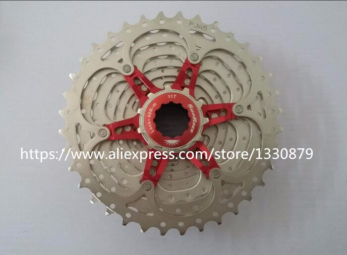 Sunrace 11 Speed Road Bicycle Freewheel Bike Cassette cycling flywheel Bicycle Parts CSRX1 freewheel  11-36TSunrace 11 Speed Road Bicycle Freewheel Bike Cassette cycling flywheel Bicycle Parts CSRX1 freewheel  11-36T