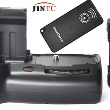 Высококачественный батарейный блок JINTU для Canon 100D Rebel SL1+ ИК-пульт дистанционного управления+ комплект кабелей