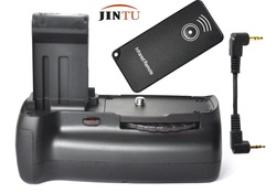 JINTU High quality Battery Grip Pack for Canon 100D Rebel SL1 + IR remote Control + Cable kit