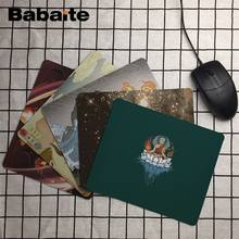 Babaite My Favorite Avatar DIY Design Pattern Game mousepad Size for 18x22cm 25x29cm Rubber Rectangle Mousemats(China)