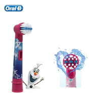 Oral B EB10 4 Children Electric Toothbrush Heads Tooth Brush Heads Round Brush Heads 4 Hedas