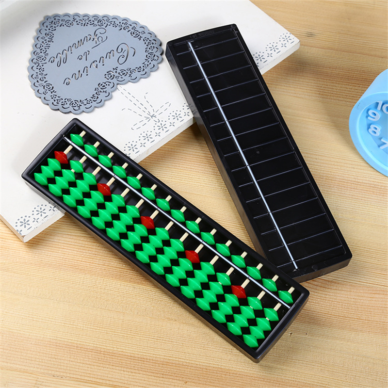 2018 Hot Sale Plastic 15 Digits Abacus Toys Arithmetic Tool Math Calculator Kids Learning Educational Caculating Toy Gifts