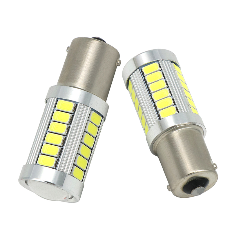 1156 7506 P21W BA15S 5630 5730 LED Brake Lights Auto Reverse Lamp Turn Signal Daytime Running Light red white yellow Car styling 1056 auto bulbs py21w s25 led 3014 smd car tail bulb turn signal auto reverse lamp daytime running light amber white yellow
