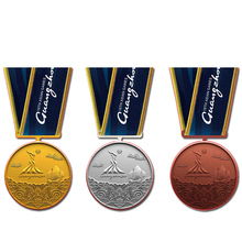 Custom Metal Gold, Silver and Copper Medal Factory Wholesale Blank k200190