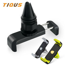 Car Phone Holder for Iphone 7 Plus Sumsung Air Vent Mount Car Holder 360 Degree Ratotable Mobile GPS Car Car-styling Phone Stand
