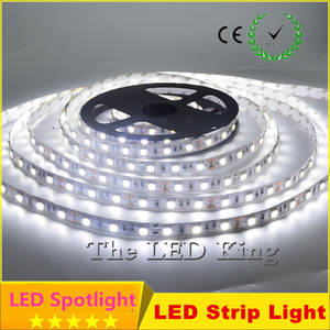 Light Decorative-Tape Led-Strip 5050 Smd White Blue Than 10m/Pack 3528 Indoor 2835 Dc 12v