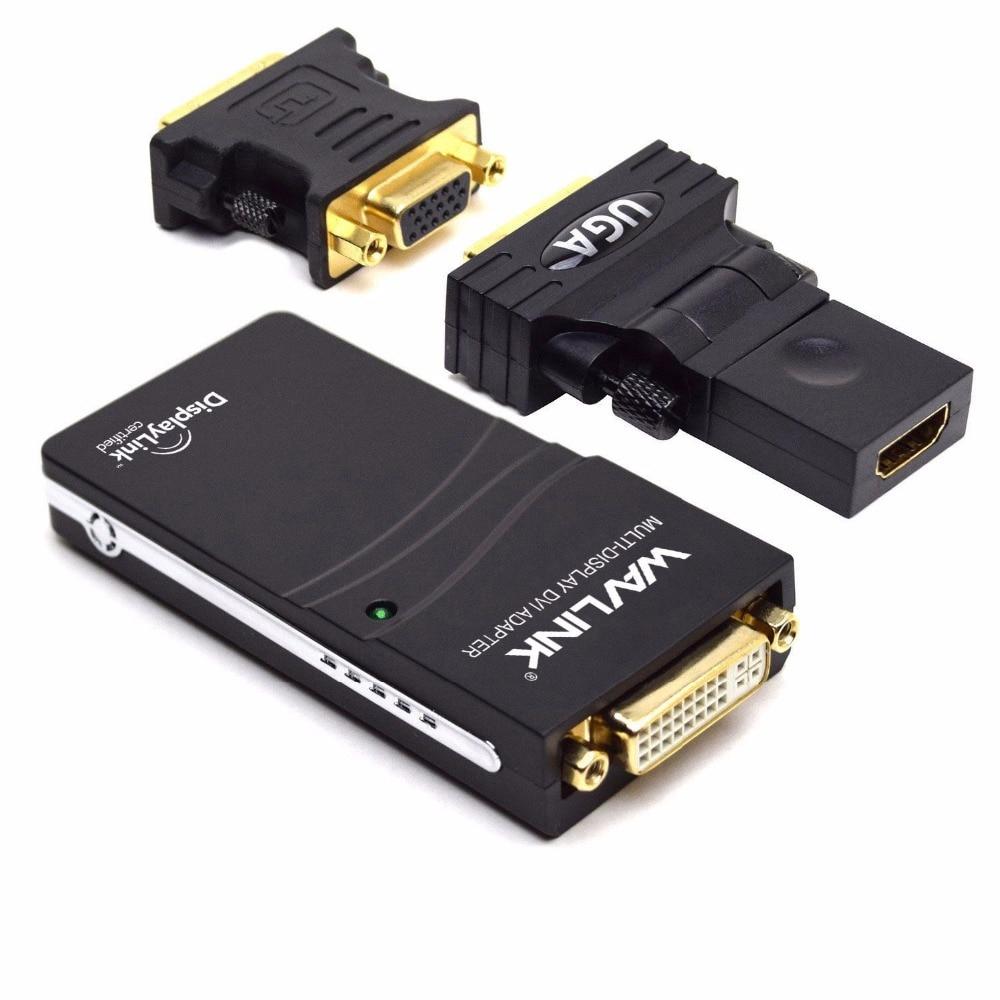 Wavlink USB 2.0 till VGA / DVI / HDMI Video grafisk adaptrar flera - Datorkablar och kontakter - Foto 3