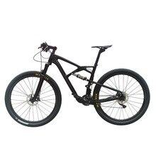 OG-EVKIN 22 Speed Suspension Carbon Fiber Mountain Complete MTB Bike 29er Bicycles Completa Ciclismo BICICLETA Size 15″/17″/19″