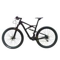 21 Speed 29er Full Suspension Frame Fork Carbon Mountain Complete Bike With Oil Disc Brake D881