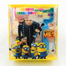 Minions Seal Stamper Children Toy DIY Decorative Painting Scrapbooking Decoration Favor Set
