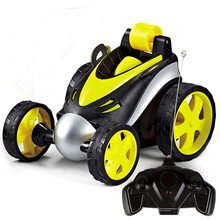 Wireless Remote Control RC Cars Tumbling Stunt Dump Truck car Toys For Children Electric Cool Toy Boy Kids Gifts все цены