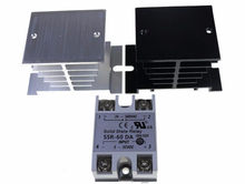 Conjunto Módulo de Relé de Estado Sólido SSR-60DA 1 60A/250 V 24 3-32 V DC Input-380VAC saída