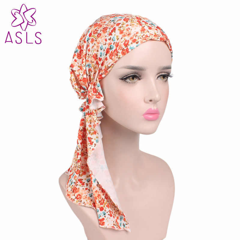 2017 Novo Chegada cor Cabeça envoltório Cabeça Quimio Cachecol Capa Cap Sono Saideira Turbante muçulmano Senhoras Turbante Do Cabelo estilo para mulheres