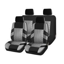 Kopohamex  Автомобильные чехлы на сиденье для автомобиля универсальные размер полиэстер 3мм надежная и практичная зашита салона прочный материал цвета  синий