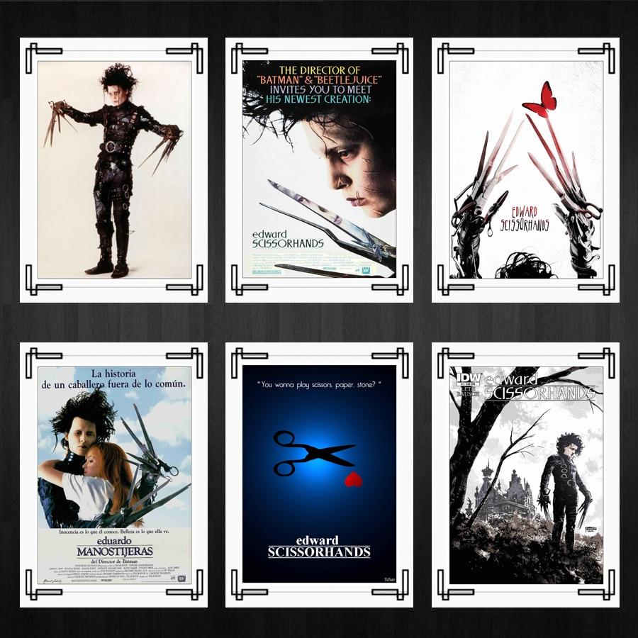 Edward Scissorhands Posters Tim Burton Movies Home Room Decor High