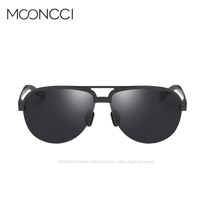 MOONCCI Retro Solglasögon Män Polariserad Aluminium Cool Mäns - Kläder tillbehör - Foto 2