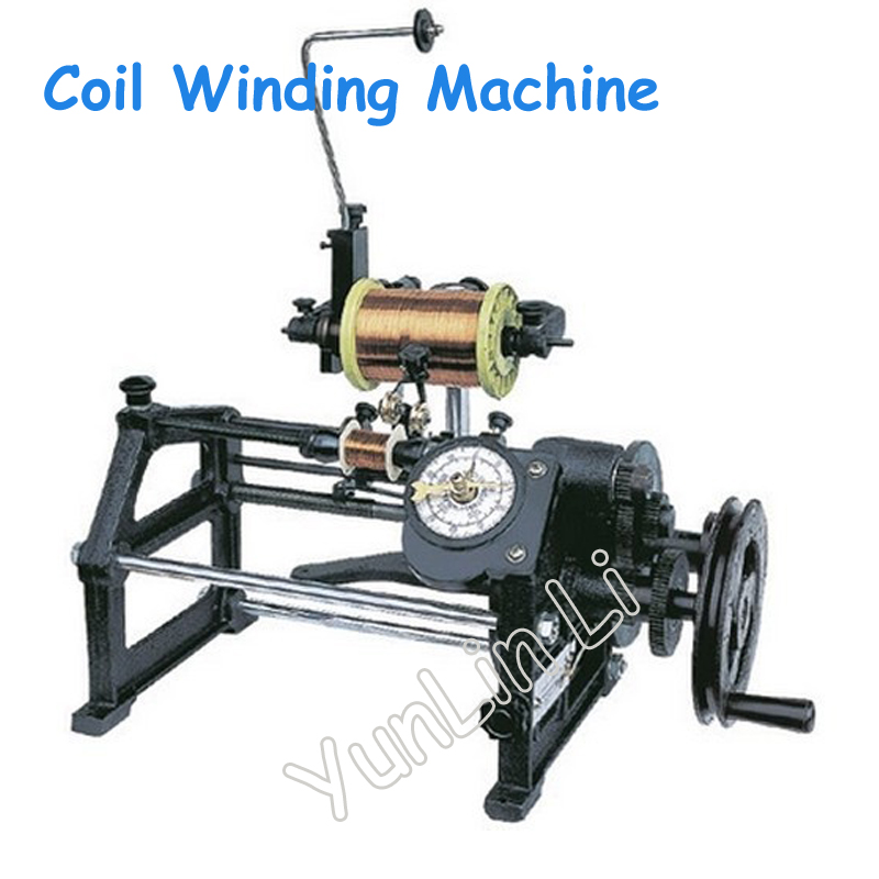 цена на New Manual Coil Winder High Quality Hand Wire Winding Machine Winder USG NZ-2
