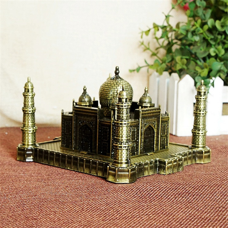 India Taj Mahal Decoratie Metal Crafts World Landmark Gebouw - Huisdecoratie - Foto 6