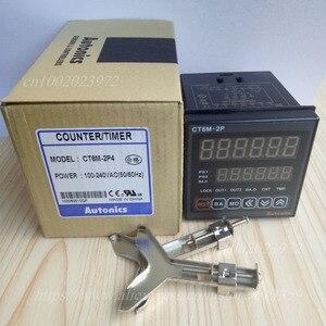 Image 2 - CT6M 2P4 ( CT6 2P) 100 240VAC(50 60Hz) новый оригинальный Оригинальный Многофункциональный таймер