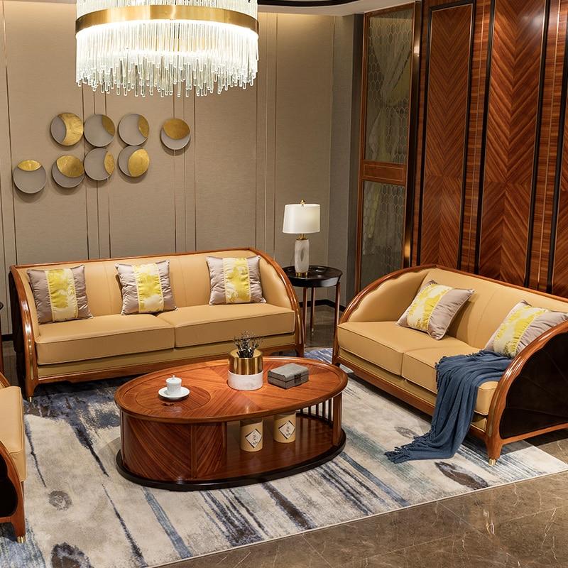 Living Room Furniture Wooden Divano