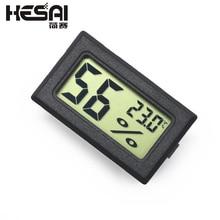 Мини ЖК черный температура цифровой и крытый гигрометр термометр датчик влажности