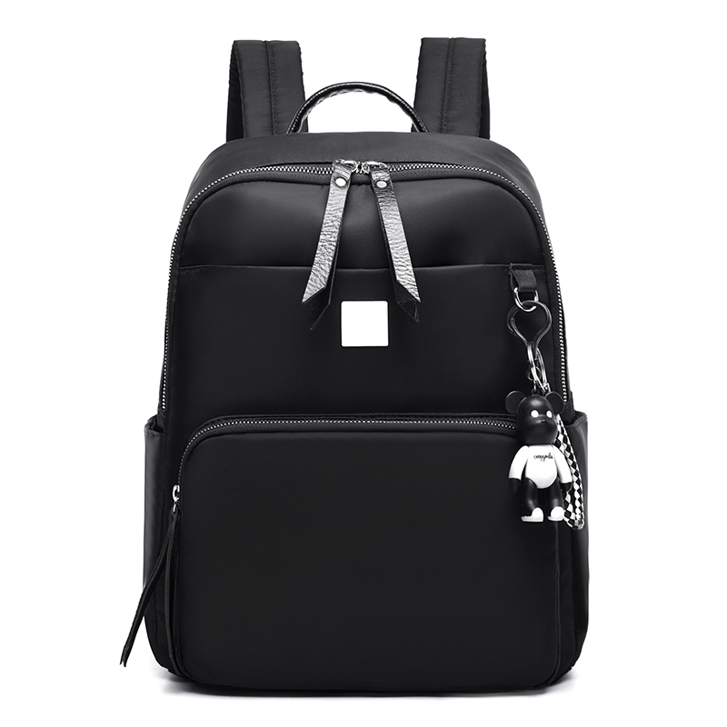 The new 2019 han edition joker backpack female college Oxford large-capacity wind bags leisure travel bagThe new 2019 han edition joker backpack female college Oxford large-capacity wind bags leisure travel bag