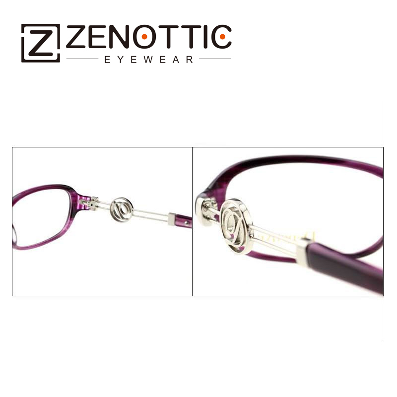 ZENOTTIC 2018 New Design Fashion Eyeglasses Frame Women Lady Style - Apparel Accessories - Photo 5