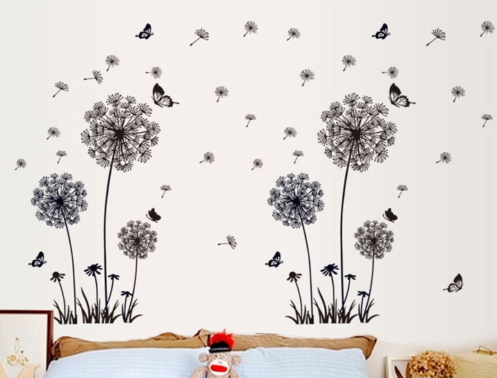 Decal wallpaper my blog for Dandelion mural