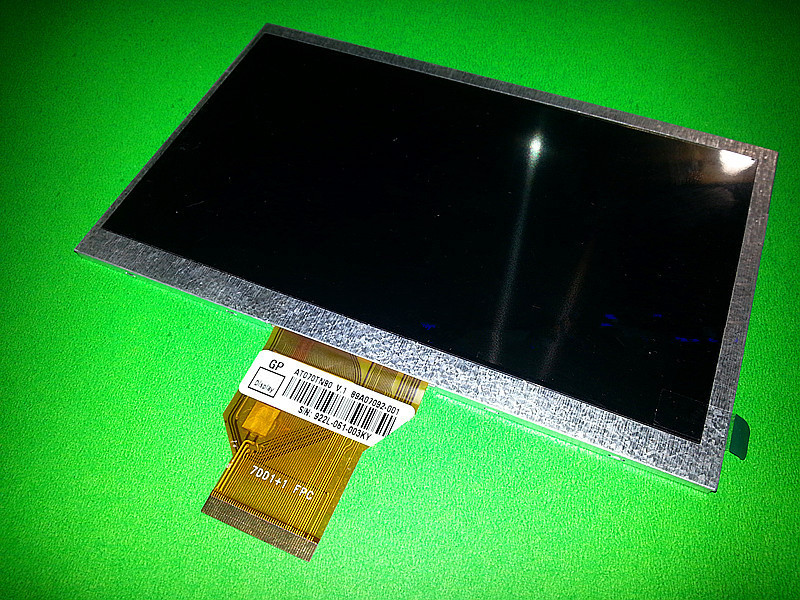 Original New 7.0 inch for INNOLUX AT070TN90 AT070TN90 V.1 LCD Screen for 800(RGB)*480 3mm TFT LCD display Screen panel original free shippat056tn52 v 3 innolux lcd screen 5 6 inch 4 3 original properties of the new regulation a digital screen