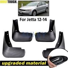 VW Jetta Mk6 A6 2011 2012 2013 2014 Vento Sedan Mudflaps 스플래쉬 가드 전면 리어 머드 플랩 머드 가드 펜더