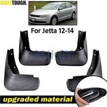 مجموعة واقيات الطين لـ VW Jetta Mk6 A6 2011 2012 2013 2014 Vento سيدان واقيات الطين والرذاذ للأمام والخلف واقيات الطين