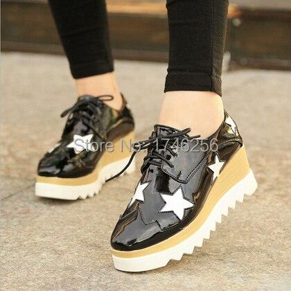 Aliexpress.com : Buy C 2015 fashion women flat platforms shoes ...