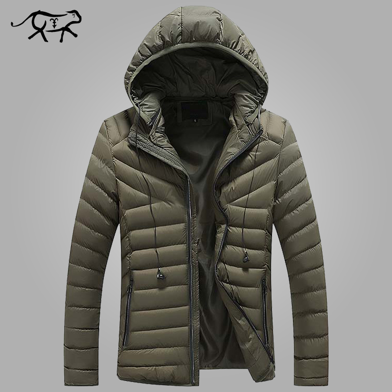 New Brand Winter Jacket Men Clothes 2018 Casual Stand Collar Hooded Collar Fashion Winter Coat Men   Parkas   Outerwear Warm M-4XL