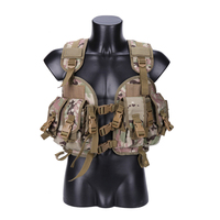 Military Airsoft Vest Tactical Molle Combat Camouflage Vest Men Hunter Protective Waistcoat CS Assault Clothing Wargame Wear