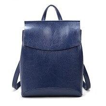 Для женщин Рюкзаки многофункциональный женский сумка Пояса из натуральной кожи Модная школьная сумка Обувь для девочек дамы рюкзак