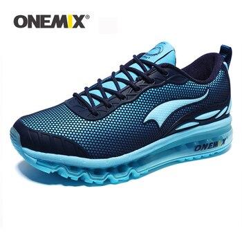 NEW ONEMIX Breathable Mesh Women Sport Sneakers chaussure running homme Men Jogging Shoes Comfortable Men Shoes Sales Size 35-46
