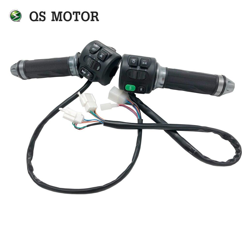 Acelerador Z6 de motocicleta eléctrica con interruptor de combinación
