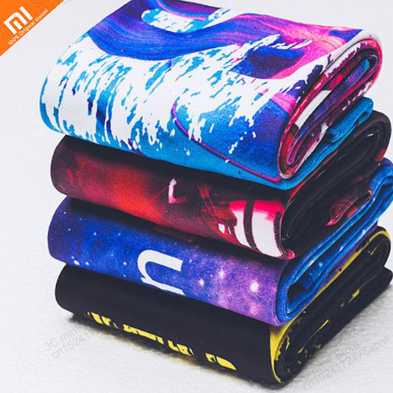 Xiaomi mijia Sweat towel men and women sports colorful quick sweat towel beach swimming travel camping soft towel smart home