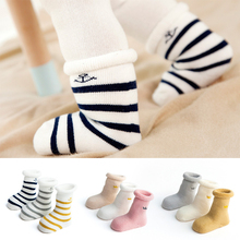 3Pcs/set The New Lot Mother Kids Baby Clothing Socks Leg Warmers Unisex All Season Suitable Floor Wear  Socks For 0-3 Year Baby