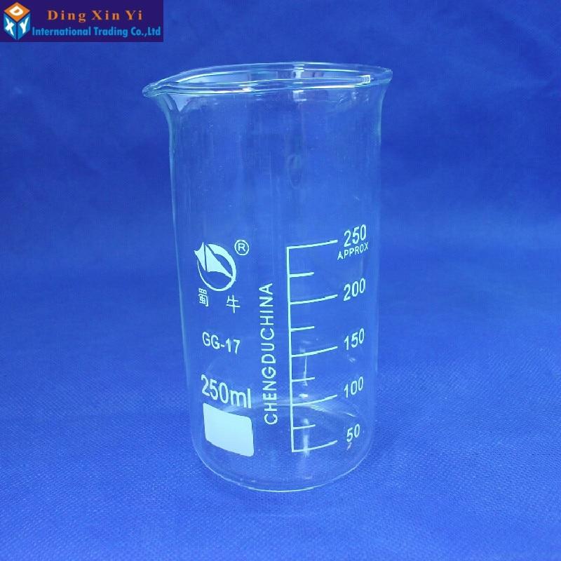 50ml-1000ml Tall Form Beaker Chemistry Laboratory Borosilicate Glass Transparent Beaker with graduation and spout Boro 3.3 Glass50ml-1000ml Tall Form Beaker Chemistry Laboratory Borosilicate Glass Transparent Beaker with graduation and spout Boro 3.3 Glass