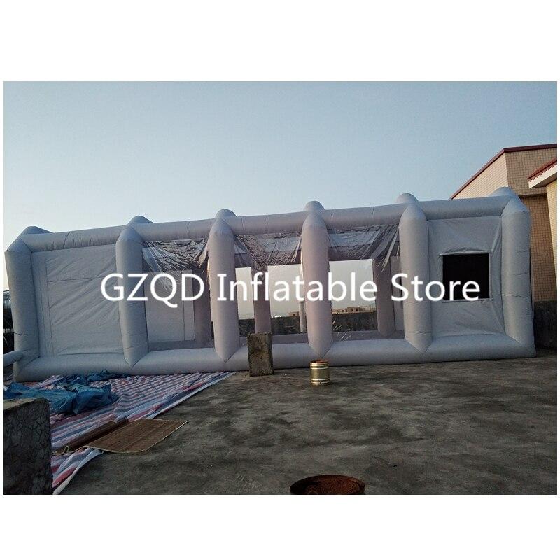 39x16x13Ft Портативный надувные красильной надувные paint booth надувной автомобиль будочка для продажи
