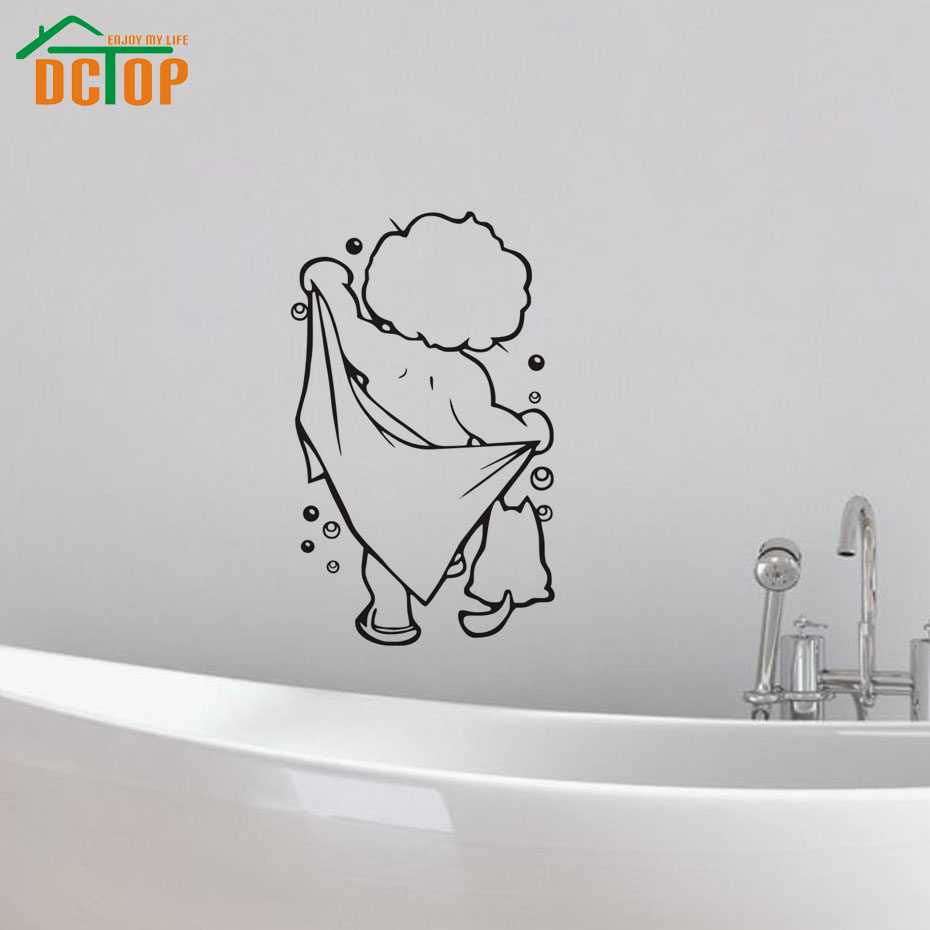 online buy wholesale children bathroom from china children dctop lovely baby love shower wall stickers bathroom stickers cute children shower sticker waterproof and removable