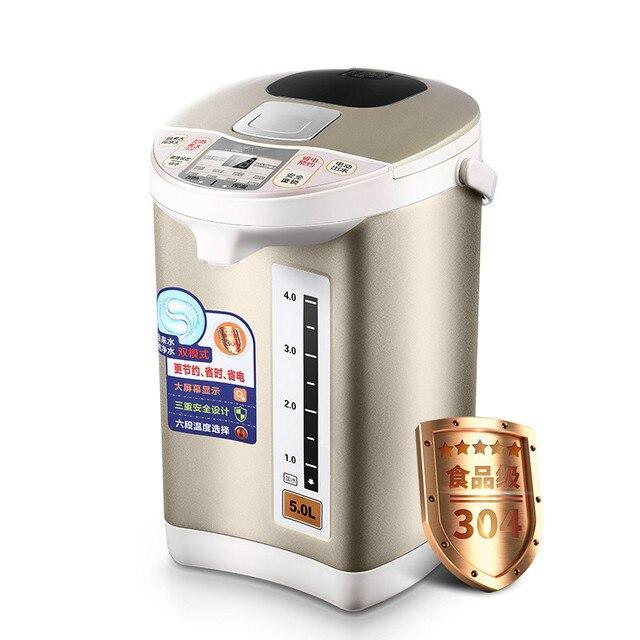 Elektrische thermos wasser flasche isolierte wasserkocher öffnen 5L ...