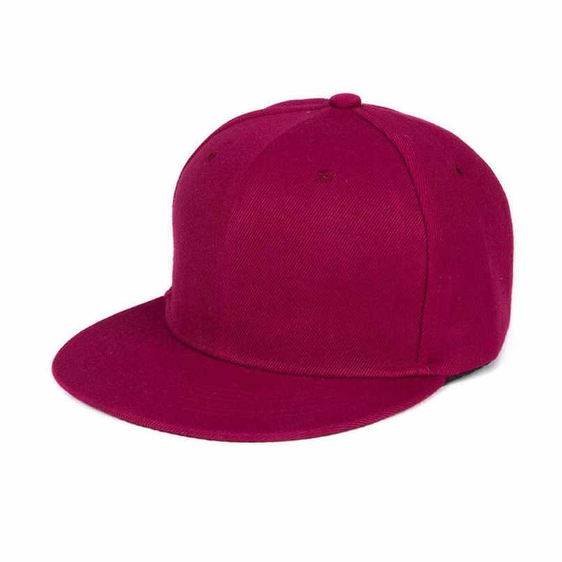 b1186bc0b40 Detail Feedback Questions about Fashion Unisex Baseball Caps Plain Snapback  Hat Hip Hop Adjustable Cap in Light gray Purple Burgundy Hot pink Green  Black ...