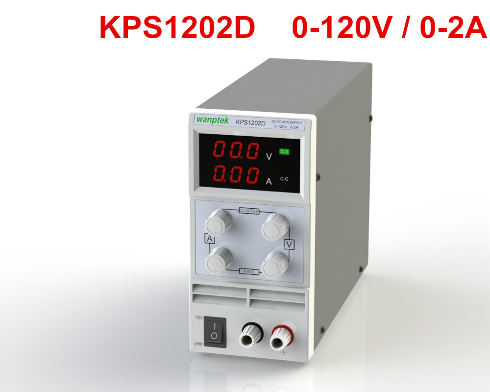 KPS1202D Adjustable High precision double LED display switch DC Power Supply protection function 120V2A 110V/220V 0.1V/0.01A EU adjustable high precision double led display switching dc power supply protection 30v 10a 110v 220v 0 1v 0 01a kps 3010d