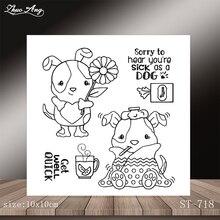 New animal design transparent seal / DIY scrapbook album decoration card making seamless